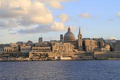 Valletta skyline, Malta Stock Photography