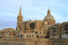 Valletta skyline, Malta Royalty Free Stock Photo