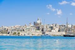 Valletta skyline Stock Image