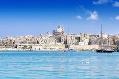 Valletta skyline Stock Images