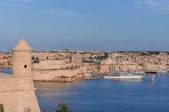 Valletta Skyline with tower Stock Images