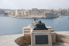 Valletta Statue Stock Photos