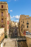 Valletta street Royalty Free Stock Photos