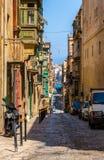Valletta Street Royalty Free Stock Photography