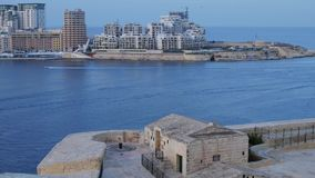 Valletta. Summer Day in Valletta Malta October 2014 stock video