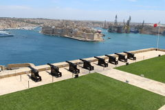 8 Valletta vapen Arkivfoton