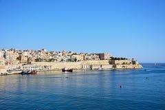 Valletta harbour, Malta. Stock Photo