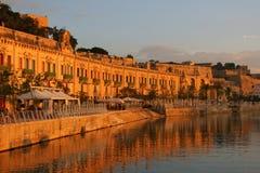 Valletta Waterfront Malta royalty free stock image