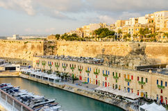 Valletta Waterfront Stock Images