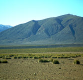 Valley in   africa morocco the atlas dry mountain ground isolate Stock Image