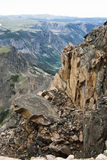Valley along Beartooth Highway Royalty Free Stock Photos