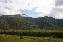 Valley in the Altai Mountains Royalty Free Stock Images