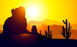 Valley (Arizona)-Vector Royalty Free Stock Photo