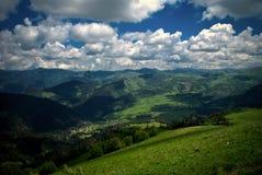 Valley of Bakuriani. Mountains around the Georgian ski resort of Bakuriani Stock Image