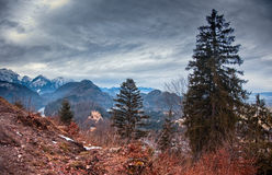 Valley in Bavaria Royalty Free Stock Photo