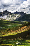 Valley. The beautiful valley in Tibet Stock Photos