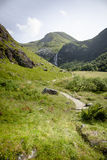 The valley of Ben Nevis, Scotland Stock Image
