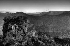 Valley of Blue Mountains in Sydney Royalty Free Stock Photos