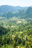 The valley in the Bulgarian Rhodopes, summer Royalty Free Stock Photos