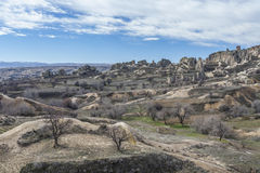 Valley of Capadocia. Turkey. View of rocks of Capadocia Stock Images