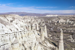 Valley of Capadocia. Turkey. View of rocks of Capadocia Stock Image