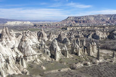 Valley of Capadocia. Turkey. View of rocks of Capadocia Royalty Free Stock Image