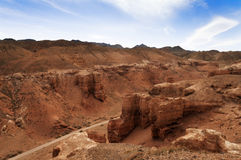 Valley of Castles in Sharyn Canyon Stock Images