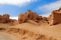 Valley of Castles in Sharyn Canyon Stock Photo