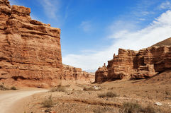 Valley of Castles in Sharyn Canyon Stock Photos