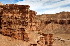 Valley of Castles in Sharyn Canyon Royalty Free Stock Image
