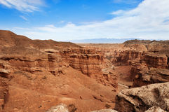 Valley of Castles in Sharyn Canyon Royalty Free Stock Photography