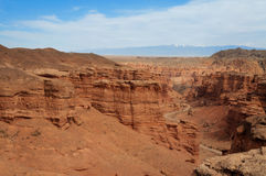 Valley of Castles in Sharyn Canyon Stock Image