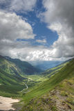 The valley in Caucasus Stock Images