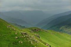 Valley in Caucasus Stock Image