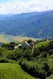 Valley and Central Mountain,Taiwan Stock Photo