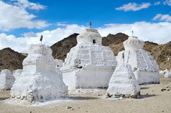 Valley of chortens Stock Images