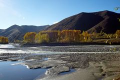 Valley of chuanxi plateau Stock Images