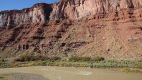 Valley of Colorado River stock footage