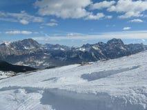 Valley of Cortina Royalty Free Stock Photos