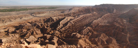 Valley of Death. San Pedro de Atacama at Chile Royalty Free Stock Photography