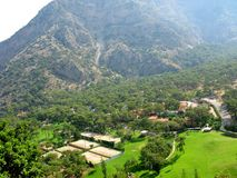 Valley deep gorge fethiye turkey Royalty Free Stock Photo