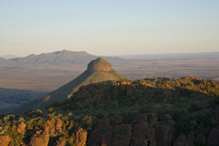 Valley of Desolation. In Camdeboo National Park near Graaff-Reinet in the Eastern Cape of South Africa stock image