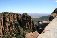Valley of Desolation. In south Africa Royalty Free Stock Images