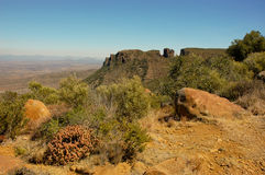 Valley of Desolation in Camdeboo Stock Photography