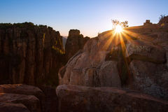 Valley of Desolation in Camdeboo National Park near Graaff-Reine Royalty Free Stock Photo