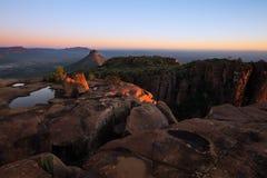 Valley of Desolation in Camdeboo National Park near Graaff-Reine Stock Image
