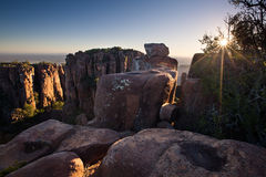 Valley of Desolation in Camdeboo National Park near Graaff-Reine Royalty Free Stock Photography