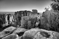 Valley of Desolation in Camdeboo National Park near Graaff-Reine Stock Photos