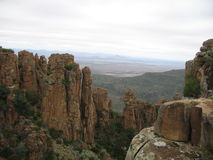 Valley of Desolation in Graaff Reinet Stock Images