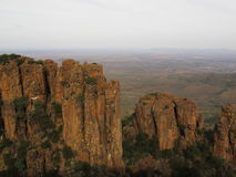 Valley of Desolation. The Valley of Desolation is a South African national monument that lies within the Camdeboo National Park stock photo